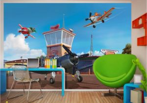 Disney Planes Wall Mural Amazing Disney Planes Wallpaper Mural by Wallandmore …