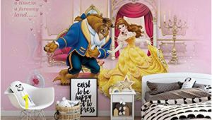 Disney Princess Ballroom Wall Mural Disney Princesses Beauty Beast Wallpaper Wall Mural Easyinstall Paper Giant Wall Poster Xl 208cm X 146cm Easyinstall Paper 2