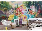 Disney Princess Ballroom Wall Mural Disney Princesses Beauty Beast Wallpaper Wall