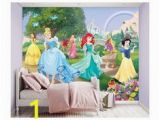 Disney Princess Ballroom Wall Mural Girly Murals