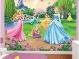Disney Princess Ballroom Wall Mural Turn Your Little Girl S ordinary Bed Into A Disney Princess