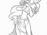 Disney Princess Black and White Coloring Pages Free Printable Coloring Pages Princess Jasmine with Images