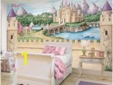 Disney Princess Castle Giant Wall Mural 50 Best Disney Wall Murals Images