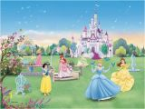 Disney Princess Castle Giant Wall Mural Castle Murals for Girls Bedrooms