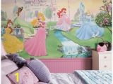 Disney Princess Castle Giant Wall Mural Disney Princess Wall Murals Myshindigs