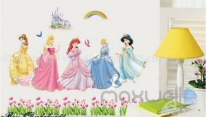 Disney Princess Castle Wall Mural 5 Disney Princess Castle Rainbow Wall Decal Removable Sticker Kids
