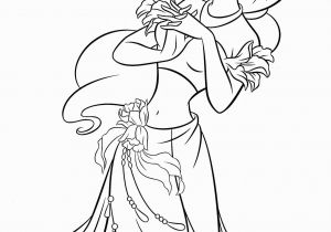 Disney Princess Coloring Pages Free to Print Free Printable Coloring Pages Princess Jasmine with Images