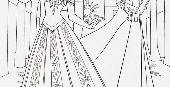 Disney Princess Coloring Pages Frozen Elsa and Anna Disney Princess Frozen Elsa and Anna Coloring Pages