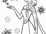 Disney Princess Elsa Coloring Pages Snow Princess Coloring Pages