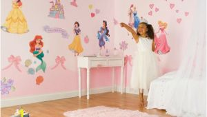 Disney Princess Mural Stickers Disney Princess Wall Decals Princess Room Wall Decals