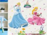 Disney Princess Mural Stickers Wall Stickers Collection On Ebay