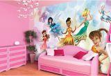 Disney Princess Wall Mural Uk Disney Fairies Wall Murals for Girls