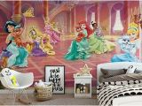 Disney Princess Wall Mural Wallpaper Disney Princess Wall Mural Zeppy