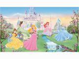 Disney Princess Wallpaper Murals Disney Dancing Princesses Prepasted Accent Wall Mural