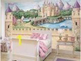 Disney Princess Wallpaper Murals Enchanted Kingdom Wall Mural Children S Rooms