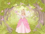 Disney Princess Wallpaper Murals Princess In Enchanted Woodland Wall Mural