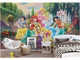 Disney Tangled Wall Mural Disney Princesses Beauty Beast Wallpaper Wall