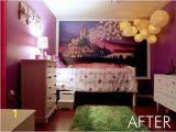 Disney Tangled Wall Mural Rapunzel Inspired Bedroom This is My Daughters Bedroom She