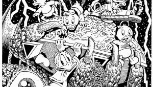 "Disney Trippy Coloring Pages the Quest for Kalevala"" 1999 by Don Rosa"