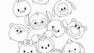 Disney Tsum Tsum Coloring Pages Cute Tsum Tsum Coloring Pages Printable Activity Sheets In
