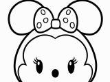 Disney Tsum Tsum Coloring Pages Minnie Mouse From Mickey Mouse Tsum Tsum Coloring Pages for