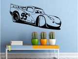 Disney Wall Mural Decal Cars Movie Wall Decal Disney Characters Vinyl Sticker Home