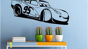 Disney Wall Mural Stickers Cars Movie Wall Decal Disney Characters Vinyl Sticker Home