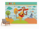 Disney Wall Mural Stickers Disney Winnie the Pooh Wallpaper