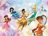 Disney Wall Murals Uk 2 Sizes Available Wallpaper Wall Mural Disney Fairies Girl S