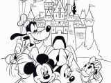 Disney World Castle Coloring Pages Free Children S Colouring In в 2020 г с