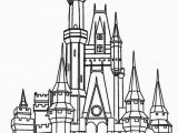 Disney World Castle Coloring Pages Inspirational Lovely Magic Kingdom Castle Coloring Pages