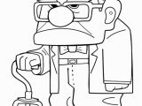 Disney Xd Coloring Pages to Print Grumpy Grandpa From the Movie Up Colour Sheet with Images