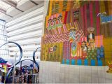 Disneyland Wall Mural Mural by Mary Blair and View Of On Site Shopping Picture Of