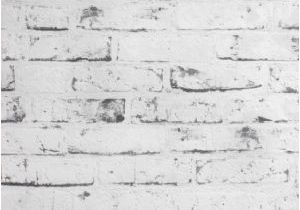 Distressed Brick Wall Mural as Creation Distressed Brick Effect Black