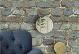 Distressed Brick Wall Mural Brick Wallpaper Rolls Blue Yellow Brown Black Distressed Murals Home
