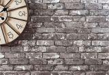 Distressed Brick Wall Mural Grey Brick Wallpaper From Next Shades Of Grey