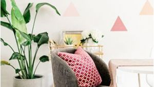 Diy Geometric Wall Mural A Diy Geometric Wall Mural with Behr Paint
