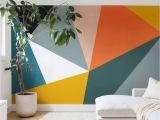 Diy Projector for Wall Mural 60 Best Geometric Wall Art Paint Design Ideas 1