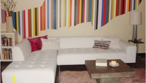 Diy Wall Mural Painting Christina S Colorful Stripe Diy Wall Mural