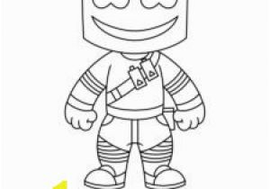 Dj Marshmello Coloring Pages Xavier Robinson Xavierrobinson511 On Pinterest
