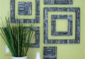 Do It Yourself Wall Murals Diy Patterned Wall Squares — Decor8