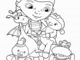 Doc Mcstuffins Coloring Pages Disney Junior Doc Mcstuffins Friends Coloring Pages for Kids Printable