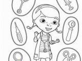 Doc Mcstuffins toy Hospital Coloring Pages Doctor Coloring Page tools раскраски и вырезаРки