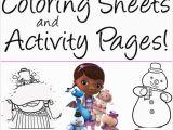 Doc Mcstuffins toy Hospital Coloring Pages Free Doc Mcstuffins Coloring Pages Activity Sheets Print them now
