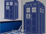 Doctor who Wall Mural Tardis Wall Sticker Kids Room Baby Nursery Doctor who Style Wall