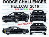 Dodge Challenger Coloring Pages Amazon Dodge Challenger Hellcat Dodge 2016 Dodge