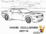 Dodge Challenger Coloring Pages Car Free Clipart 232