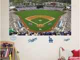 Dodger Stadium Wall Mural Fathead Los Angeles Dodgers Stadium Mural Wall Decals