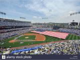 Dodger Stadium Wall Mural Los Angeles Ca Usa 4th Apr 2014 Opening Ceremonies before the