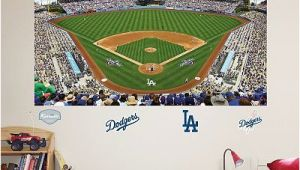 Dodgers Wall Mural Fathead Los Angeles Dodgers Stadium Mural Wall Decals